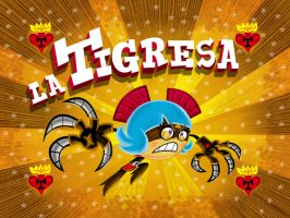 La Tigresa - title card by mexopolis