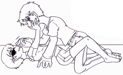 Young Justice - Wally x Dick rejected twice by Cloud-Kitsune