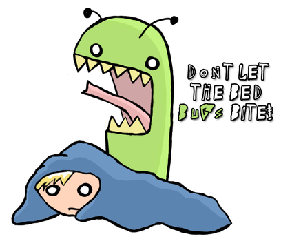 BED BUGS by IdiotxIdioteque