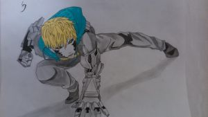 [One punch man] - Genos by TheTanlor
