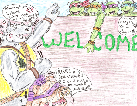 TMNT-Welcome by Mighty-turtle-1