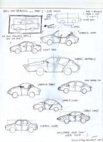 How to draw cars part1 by fritzoy
