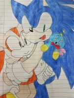 Sonic and Cream by CinamounRoll