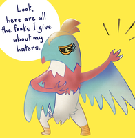 Leaked Pokemon Hawlucha
