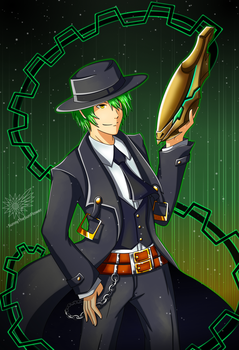 Hazama by SunnyTheSunFlower
