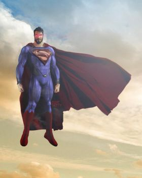 Superman by ghost2