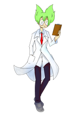 Lab coat by Terezas474747