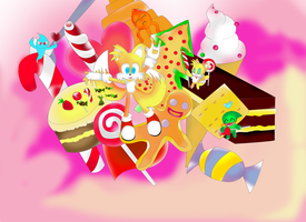 Tails in Candy Land2 by Tailsu-cun