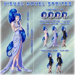 Visual Novel Sprite Commission Price Sheet by Oracle-Sphinx