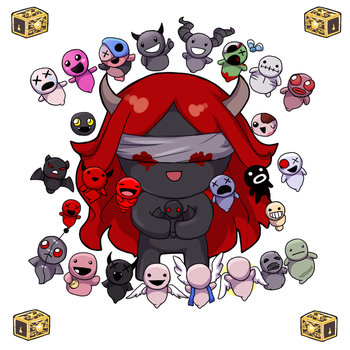 Afterbirth - Lilith's brothers and sisters by keterok