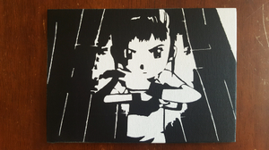 Rika Nonaka Spray Paint Art by CloudsOfVision