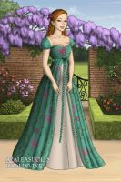 Giselle's curtains dress by LadyAquanine73551