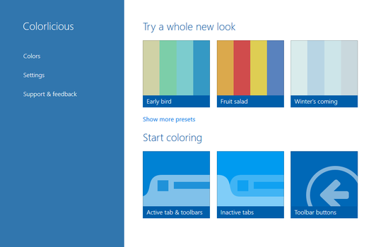 Colorlicious 1.2.1 for Firefox by SoapyHamHocks
