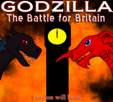Godzilla: The Battle for Britain... by AngelGhidorah
