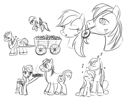 Domestic Doodles by KarmaDash