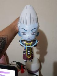 Chibi Whiss Papercraft by darcrash