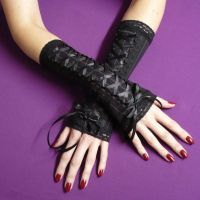 Kuro Lolita Arm Warmers by Estylissimo