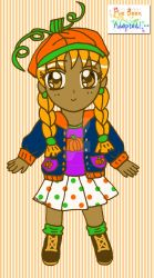Pumpkin Patch Adoptable: Octobre by Magical-Mama