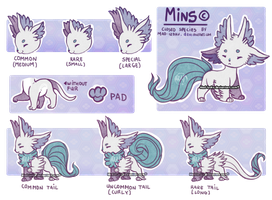 [MINS(c) reference sheet] New Species by Mad-Izoku