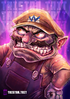 Wario by MrTristan
