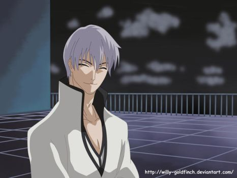 Ichimaru Gin by willy-goldfinch