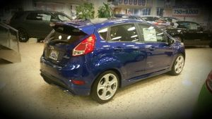 Fiesta ST in performance blue by Partywave