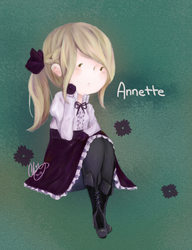 Annette by isparklehearts
