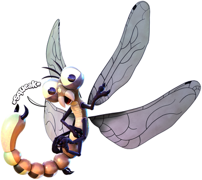 Commission: Danjim The Dragonfly! by SmashingRenders
