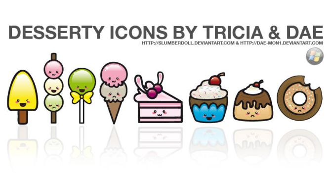 Desserty Icons for Windows by dae-mon1