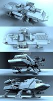 dropship WIP 01 by 3D-BUG