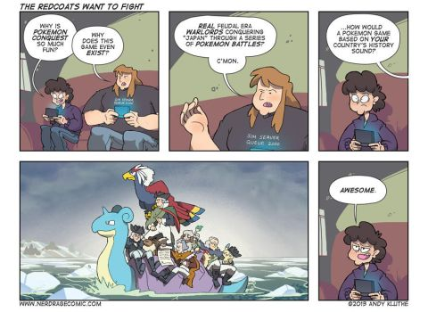 Nerd Rage - The Redcoats Want to Fight by AndyKluthe