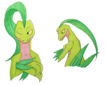Grovyle by RatherPeculiar