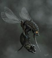 Insectoid from Hell by malverro