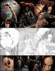 Top Cow Cover-before and after by Kai-S