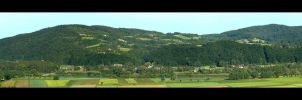 Panorama From Roof Of My House by skarzynscy