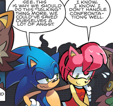 .:Recolor:. Sonic the Hedgehog Issue 221 by BlackSista100