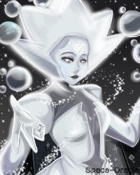 (Fanart) White Diamond by Space-Oracle