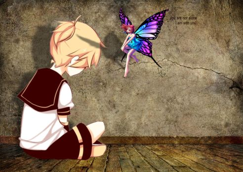 Alone and Fairy by Lordlel