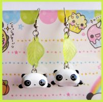 Tarepanda Earrings by cherryboop