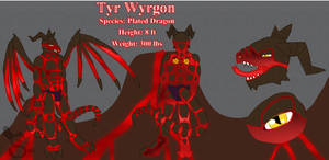 Commission: Tyr Wyrgon by ShokiDeNai