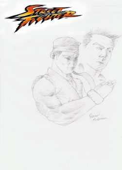 Street Fighter Artwork Title by TheBPhantomKing