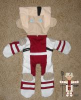 Trigun: Lost Knives Plushie by EdenEvergreen