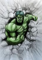Incredible Hulk by JarOfComics