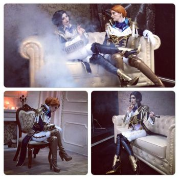 Trinity Blood. Jane and Mary. Teaser by MarionetteTheatre