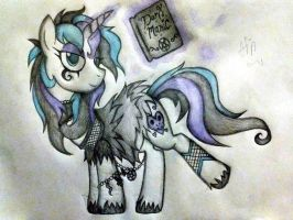 Sugar Skull - Official MLP OC  by AngelOfTheWisp