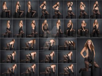 Stock: Patrice Sheer Pantyhose Poses - 29 Images by stockphotosource