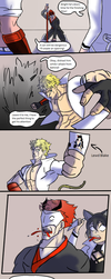 Blake's Bizarre Adventures:  Lood is Unbreakable by LeonardoFRei