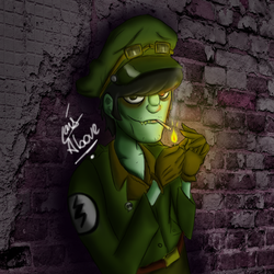 Hey - Murdoc by LaisAbove