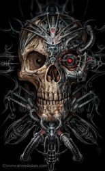 Bio skull by Ironshod