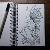 Instaart - Dragon by Candra